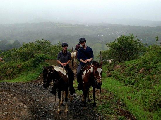 Sabine's Smiling Horses : Breathtaking views!