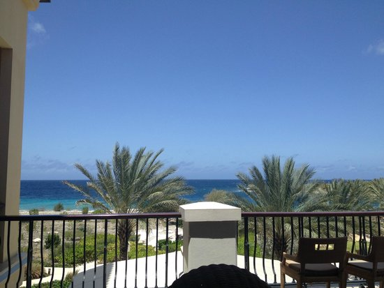 Santa Barbara Beach & Golf Resort, Curacao: Upper deck