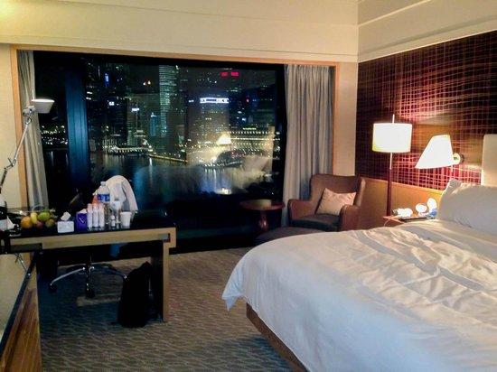 Mandarin Oriental, Singapore: Premier Harbour Room