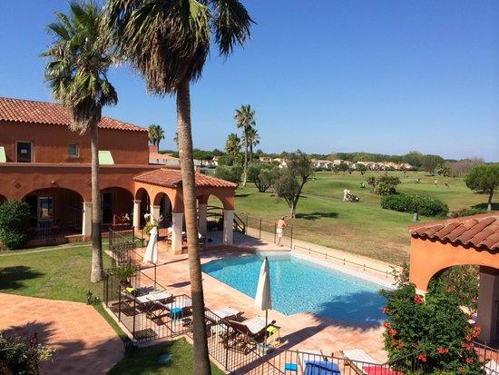 Palmyra Golf Hotel: Vue depuis notre chambre