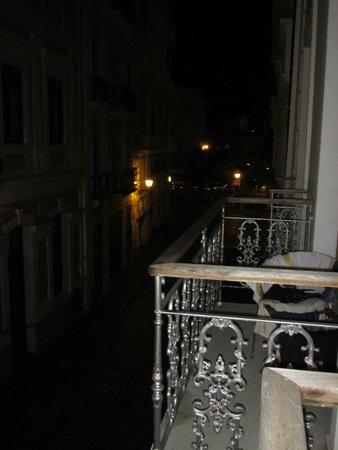 Cervantes: On the balcony