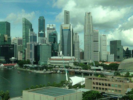 Mandarin Oriental, Singapore: View from room