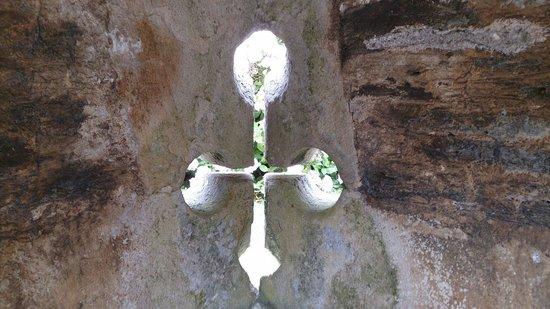 St. Mawes Castle: Cruciform arrow slit