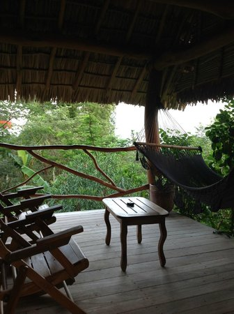 Totoco Eco-Lodge : My porch