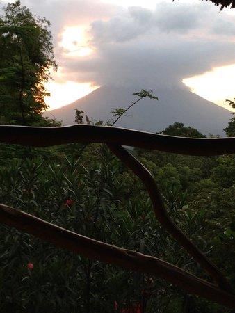 Totoco Eco-Lodge: Volcano Maderas
