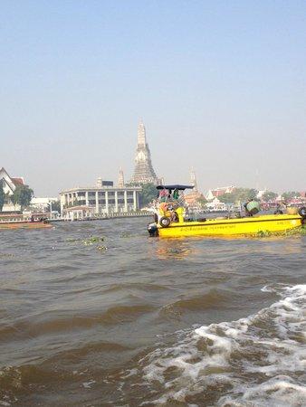 Chao Phraya River: Mas bela visão da paisagem