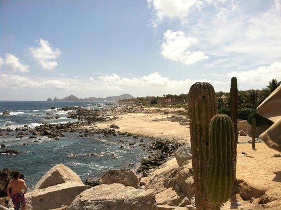 Hacienda Encantada Resort & Residences: View of the beach and Cabo