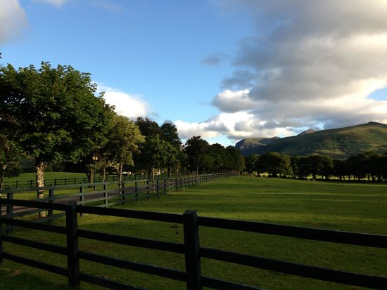 The Dunloe Hotel and Gardens: The views