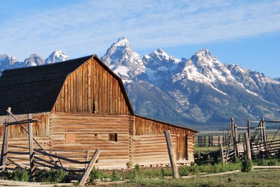 Antelope Flats: Used my new camera to take this photo of the Tetons