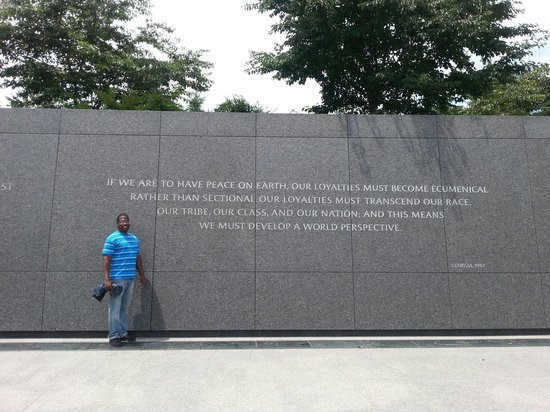 Martin Luther King, Jr. Memorial : One of my husband's favorite.