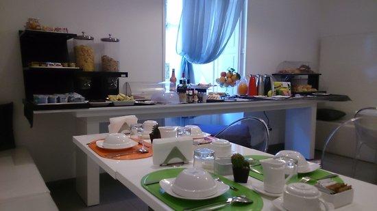 Palazzo Abagnale: Desayuno
