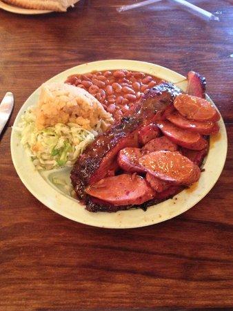 Salt Lick BBQ: the grub