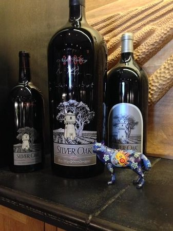Silver Oak Cellars: large formatt bottles are always fun!