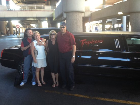 Trop Limo Pick Up From Airport Picture Of Tropicana Las Vegas A