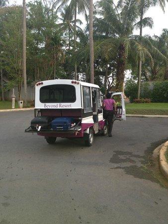 Beyond Resort Krabi : tuktuk - free service