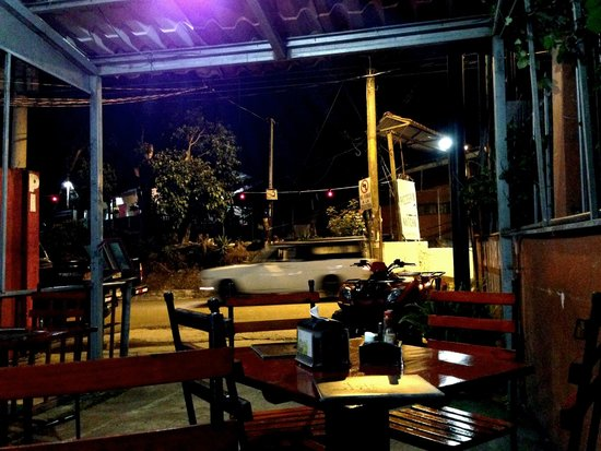 Maravilla : View from the outdoor seating area