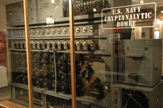 National Cryptologic Museum : Navy Bombe