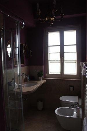 Casa Soleluna B&B : Banheiro maravilhoso!