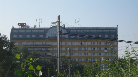 Wellness Hotel Step: hotel set nær sporvognstop