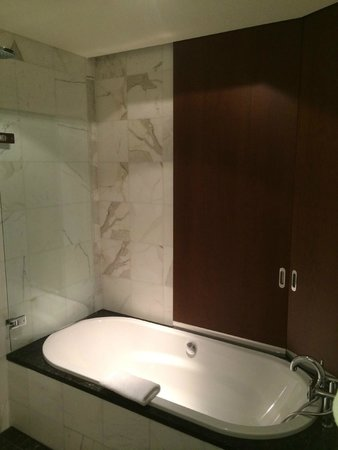 Park Hyatt Zurich: Bathtub