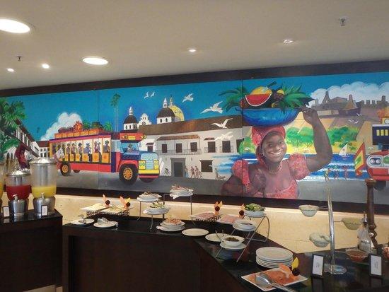 Hilton Cartagena : Breakfast