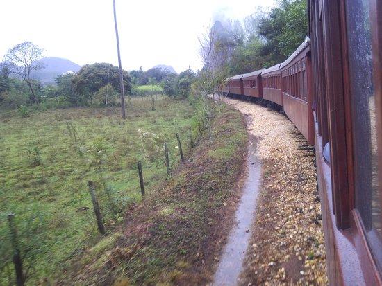 Steam train to Sao Joao del Rei : No caminho para Tiradentes