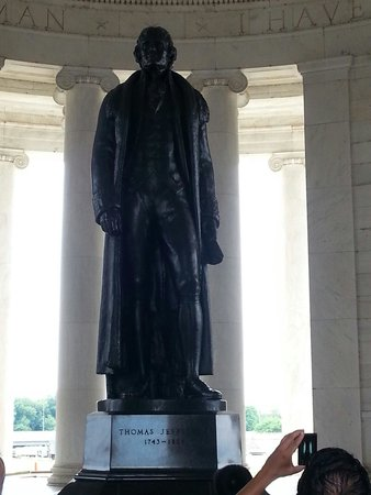 Jefferson Memorial: Thomas Jefferson himself