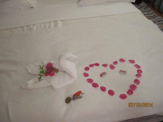 Melenos Lindos Hotel : Nice surprise