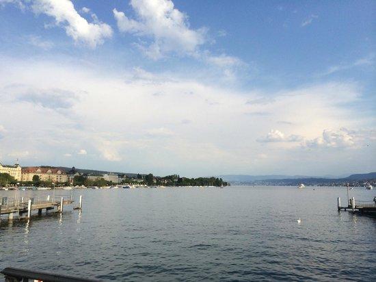 The Park Hyatt Zurich is 2 blocks from Lake Zurich