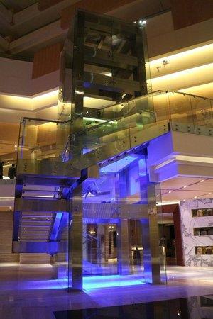 Hyatt Regency Chennai: Atrium - very beautiful area