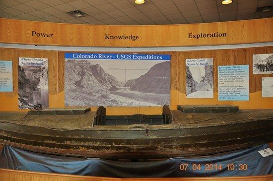 Glen Canyon Dam : Glen Canyon visitor center