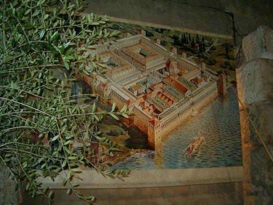Vista de los que fue el Palacio de Diocleciano