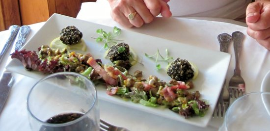 Restaurant at The Castle of Brecon Hotel: Starter