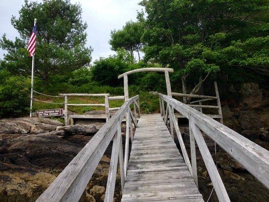 Grey Havens Inn : Dock Ramp from seaside