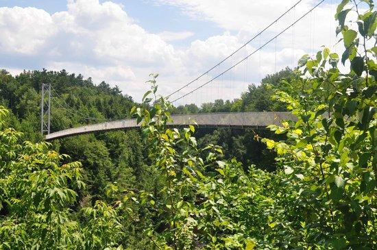 Parc de la Gorge de Coaticook: The bridge