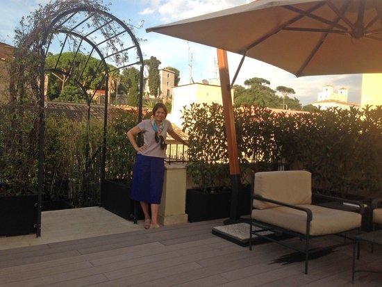 Babuino 181: Borghese Gardens from terrace