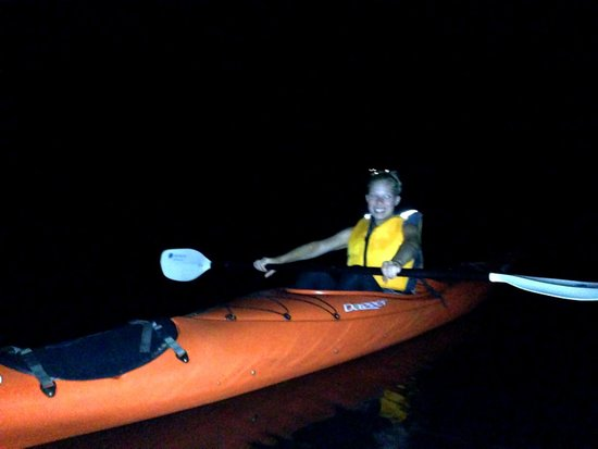 Bahia Rica Fishing and Kayak Lodge: Bioluminescent Kayak Tour!