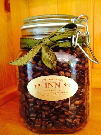 James Place Inn Bed and Breakfast: Our Coffee is Blended Just For Us