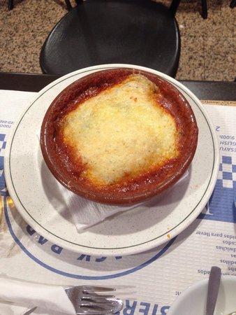 Snack Bar Mariano's: Lasagne under e6