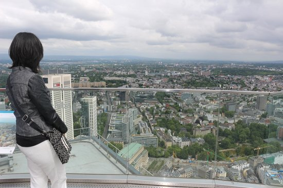 Edifício Main Tower - Frankfurt-Alemanha