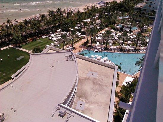 Fontainebleau Miami Beach: VISTA DESDE MI HABITACION