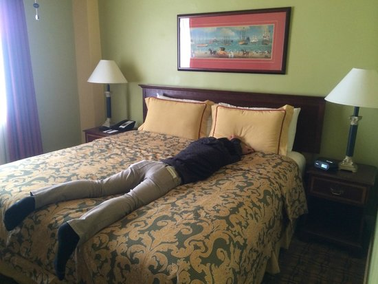 King George Hotel: 1King Bed