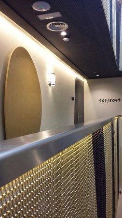 Vincci Gala Barcelona: Couloir du 5ème étage