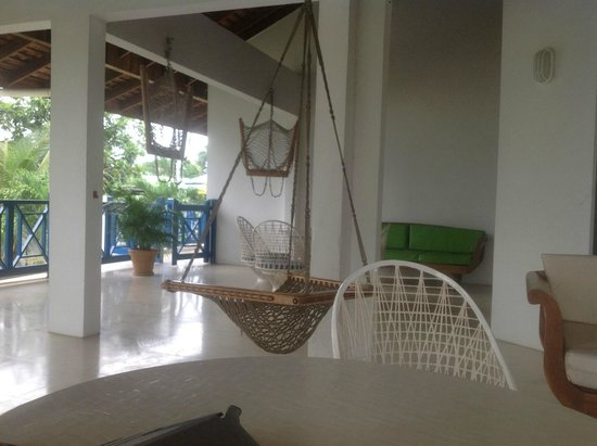 Negril Tree House Resort: Garden Suite J on 2nd Floor. Shares the porch with the suite next door.