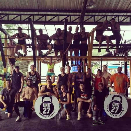 Unit 27 Total Conditioning & CrossFit Gym: Completed Saturday morning Rapid Fire Comp my favorite day of the week..