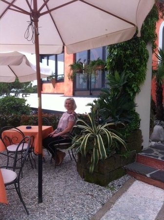 Hotel Belvedere : Bar externo
