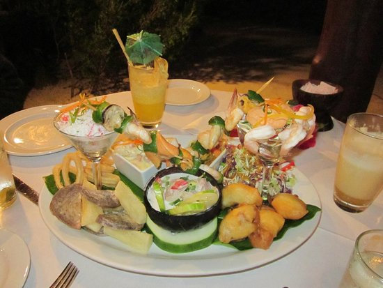 The Flying Boat: Delicious seafood platter