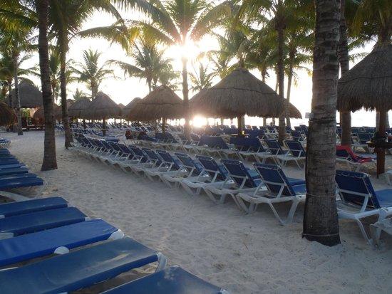 Grand Riviera Princess All Suites Resort & Spa: Beach
