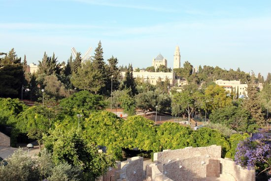 Inbal Jerusalem Hotel - The View From Our Room