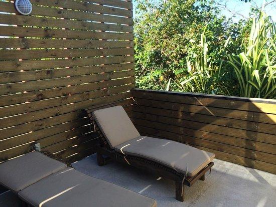 Hotel Moana: Private terrace